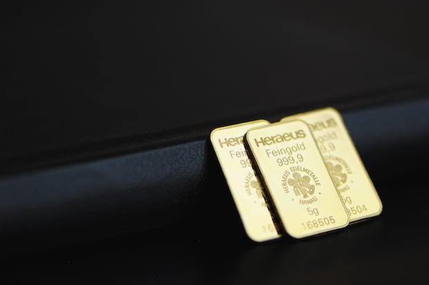 Gold als Weihnachtsgeschenk immer beliebter