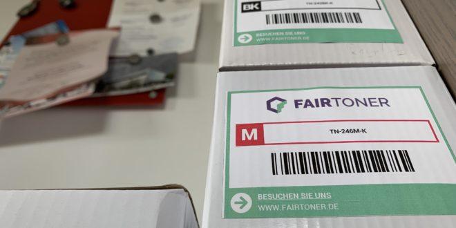 Alternative hochqualitative Tintenpatronen und Lasertoner: Fairtoner.