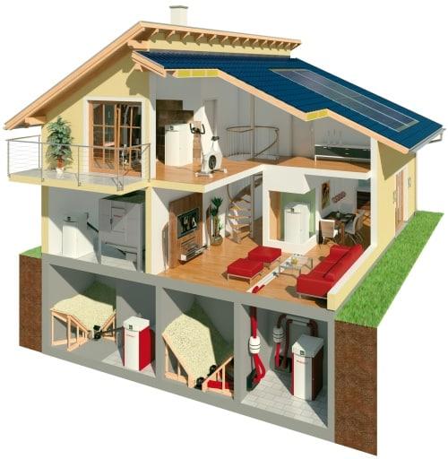Flexibler und praktischer Wärmeerzeuger: Der neue Pelletskessel von Windhager lässt sich im Keller, unterm Dach oder in Wohn- und Nebenräumen aufstellen. (Foto: epr/Windhager Zentralheizung)